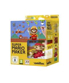 Super Mario Maker + amiibo Mario Classic Color (Wii U) für 48,74€ @Amazon.fr
