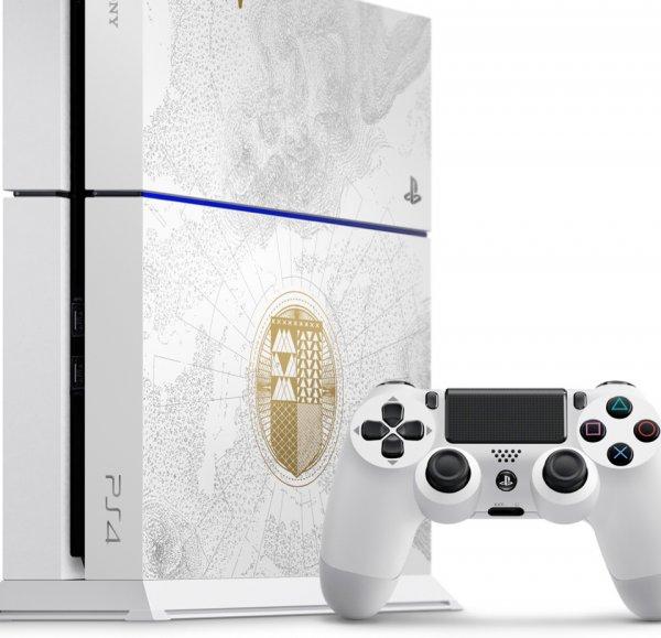 Sony PlayStation 4  500 GB + Destiny: König der Besessenen für 369 € | Mediamarkt Gütersloh