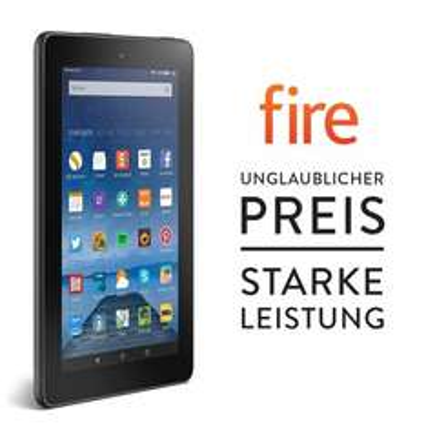 Amazon - Fire, 17,7 cm (7 Zoll) Display, WLAN, 8 GB - mit Spezialangeboten (ab 30.09.2015)
