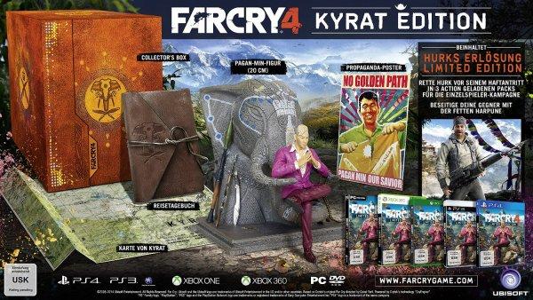 [Amazon WHD]  FAR CRY 4 - Kyrat Edition - Xbox One - ab 40,10€ inkl. Versand