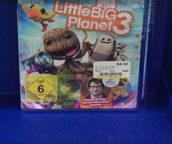 Little Big Planet 3 PlayStation 4 PS4 lokal Mediamarkt Borsighallen Berlin