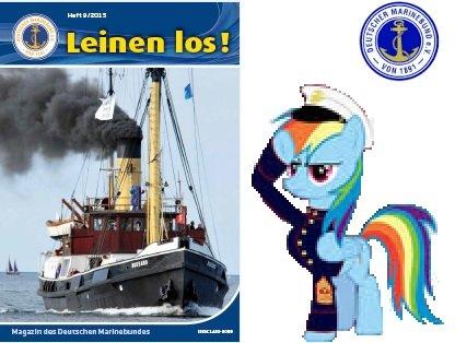 """1x kostenlose Ausgabe """"Leinen Los!"""" (Deutscher Marinebund)"""