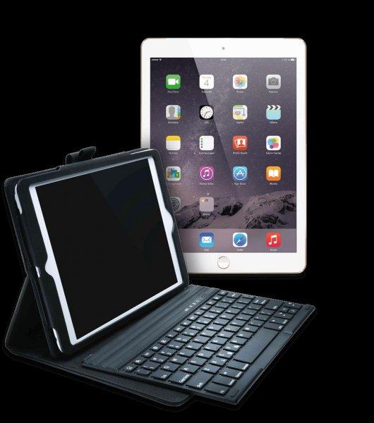 Apple iPad Air 2 16GB Cellular gold + Kensington KeyFolio Pro für 453,95€