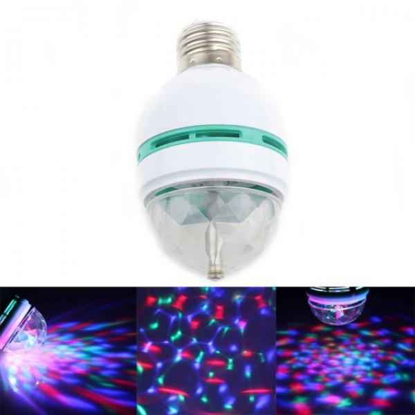 TLSC 3W 100lm 3-LED RGB Partyglühbirne 85~260V bei allbuy