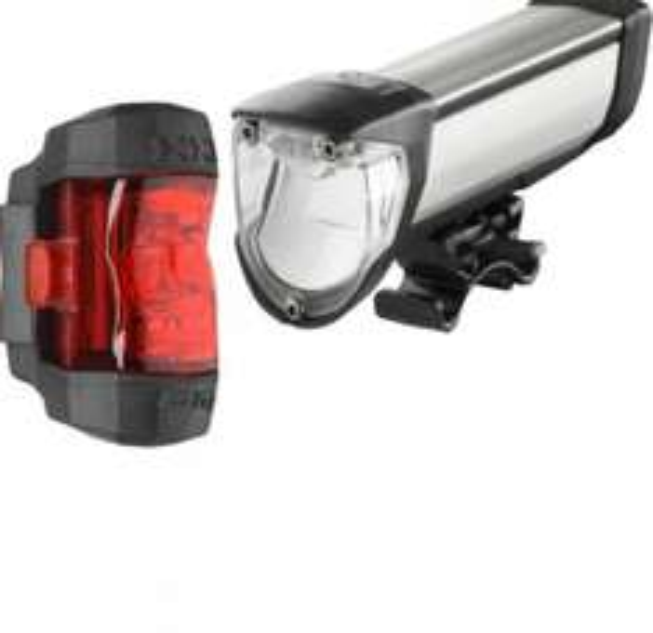 Ixon Core Set 50 Lux Fahrradbeleuchtung