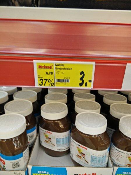 [Leipzig >> Reudnitz] Nutella 1kg für 3€ bei Kaufland