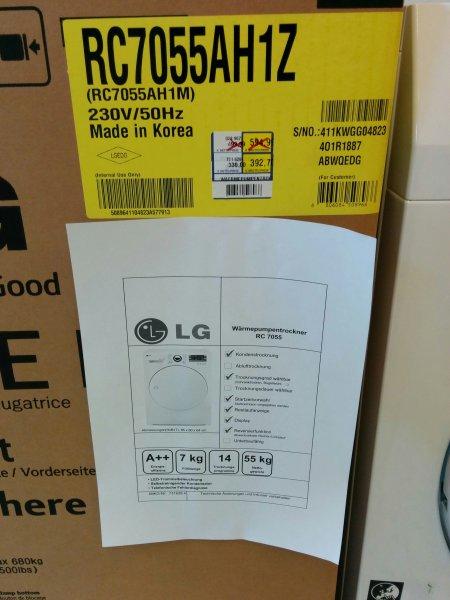 [LOKAL/Saarbrücken] METRO:Wärmepumpentrockner LG RC7055AH1Z mit A++ (Idealo 588€)
