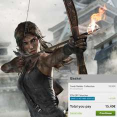 [Steam] Tomb Raider Collection (11 Spiele) für 15,40€ @gmg.com (Neuer Bestpreis!) / Square Enix Sale: auch Hitman, Deus Ex, Just Cause, Kane & Lynch im Angebot
