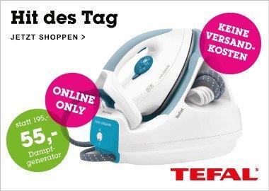 (Mömax)Tefal Dampfgenerator Easycord Pressing 47,95 Euro inkl. Versand