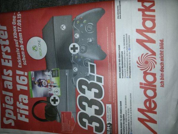 XBOX ONE MIT FIFA 16