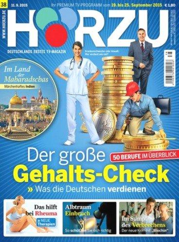 14 Monate Zeitschrift HÖRZU für effektiv 1€