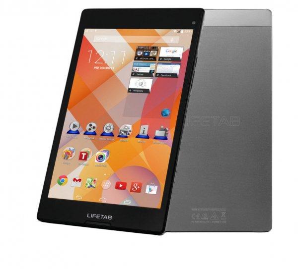 "MEDION LIFETAB S8312 (MD 98989)  (B-Ware) schwarz -8"" Full HD-Display mit IPS, 3G, Android 4.4, 2 GB Ram, 16 GB intern, 1,7 GHz Octa-Core Prozessor, GPS,  inkl. Vsk für 139 € > [ebay.de] > medion shop"