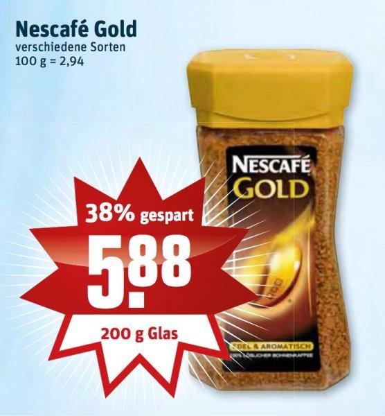 [Rewe Dortmund] Nescafe Gold 5,88€ (2x für effektiv 1,76€)