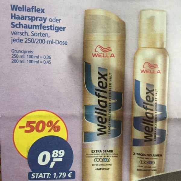 [Real] Wellaflex Haarspray o. Schaumfestiger