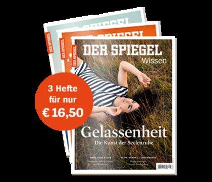 """3 Ausgaben """"Spiegel Wissen"""" + 10€ Amazon-Gutschein für zusammen 16,50€"""