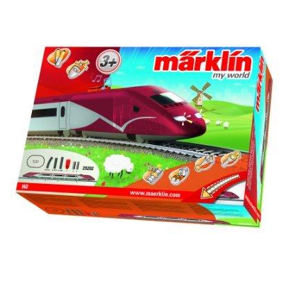 [Müller/Müller.de] Märklin My World Startpackung (Belgischer Hochgeschwindigkeitszug)