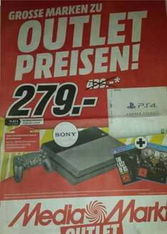 [Media Markt Siegen] Playstation 4 (Refurbished) + The Last of Us Remastered + The Order 1886 für 279