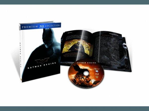 [Saturn] Heute wieder im Angebot... Batman Begins - Premium Blu-ray Collection - (Blu-ray) für 4,99€ Versandkostenfrei ab 20.00 Uhr