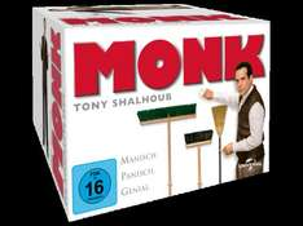 Monk - Staffel 1-8 (Komplette Serie) - (DVD) @Saturn VSKfrei