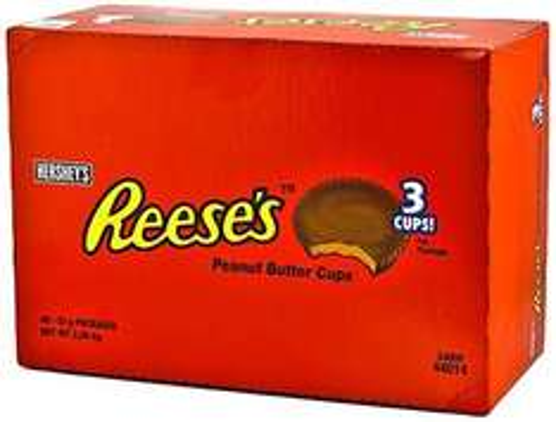 @Amazon : 2 kg Reese's Peanut Butter Cups, 40er Pack (40 x 51 g) für 12,41€ / Idealo ab 30€