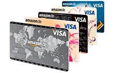 Amazon Kreditkarte mit 60 € Starguthaben bei Neubeantragung