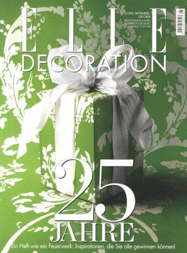 Elle Decoration für effektiv 1€ verfügbar, dank 35€ Verrechnungsscheck