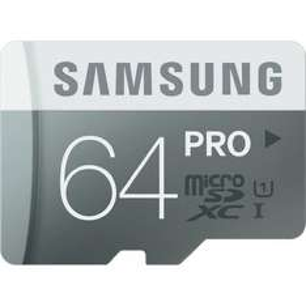 Samsung microSDXC Pro 64GB Class 10 (Lesen: 90 MB/s / Schreiben: 80 MB/s) für 22,45€ bei Conrad.de
