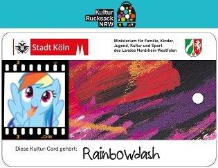 """Kostenlose """"Kultur Card"""" (ermöglicht Freien Eintritt zu vielen Veranstaltung im Raum NRW)"""