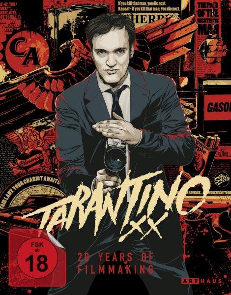 [Blu-ray] Tarantino XX - 20 Years of Filmmaking [9 Discs] @amazon.de