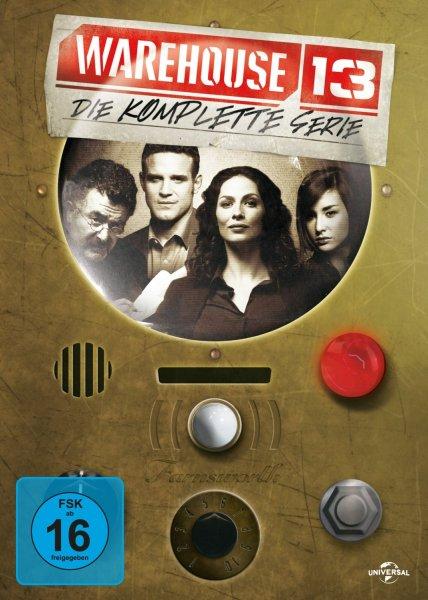 (Amazon.de) Warehouse 13 - Die komplette Serie +  Bonusmaterial auf 16 DVDs  für 38,97€
