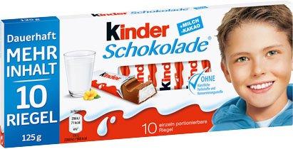 [Kaufland] Kinderschokolade oder Yogurette (100g für 56ct) nicht in Berlin!