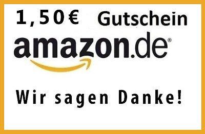 1,50 € Amazon Gutschein Abgelaufen
