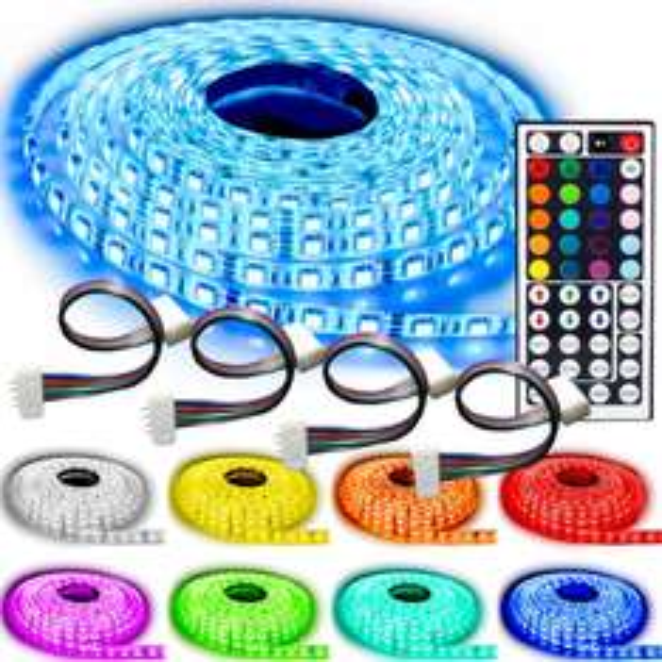 5m LED-Band mit 60 LEDs pro Meter Wasserfest In- und Outdoor IP65