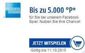 [Payback] American Express mit bis zu 5.000 Punkten (50€)