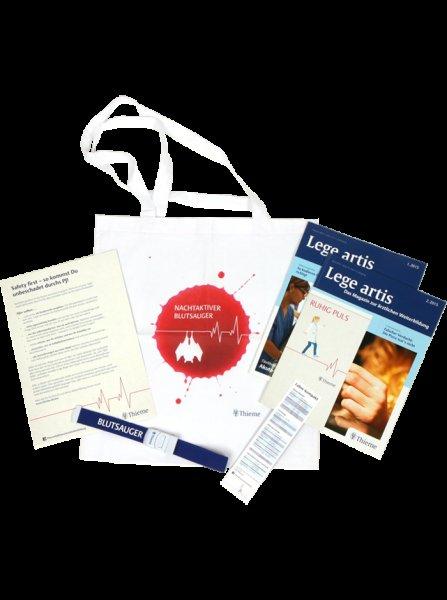 Medizin Starter-Kit für die Klinik: Lege artis, Venenstauer, Laborwerte-Infos etc