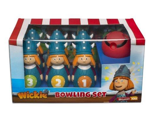 [Amazon.de-Prime] Studio 100 MEVI00000480 - Wickie und die starken Männer: Bowling-Set
