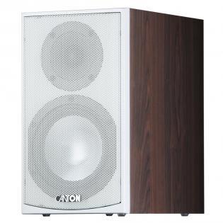 [redcoon] Canton GLE 420.2 mocca / weiß, Regal-Lautsprecher, Paar 119,98€