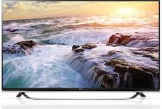LG 55UF850V 140 cm (55 Zoll) 3D 4K Ultra HD LCD-TV, LED-Back­light, 1500 Hz, DVB-T/-T2/-C/-S2 Emp­fän­ger, WLAN, In­ter­net­fä­hig, Video on De­mand, Webbrowser@pixmania