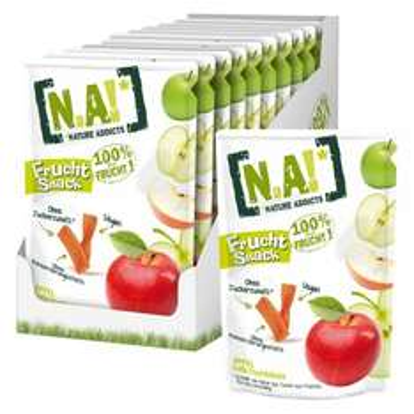 [Amazon.de-Prime] N.A! Frucht Snack Apfel, 30er Pack (30x 35 g)