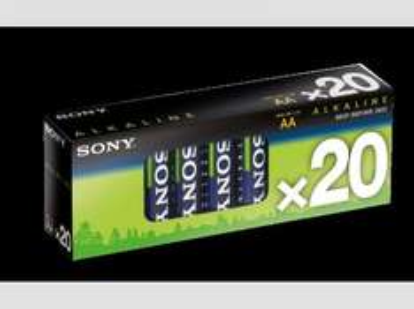 [Mediamarkt] SONY 20er Multipack Alkaline, AA, LR6, 1,5 V Batterie für 3,-€ Versandkostenfrei