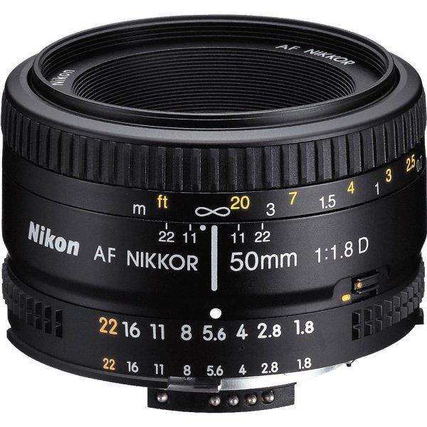Nikon AF Nikkor 50mm 1:1,8D Objektiv