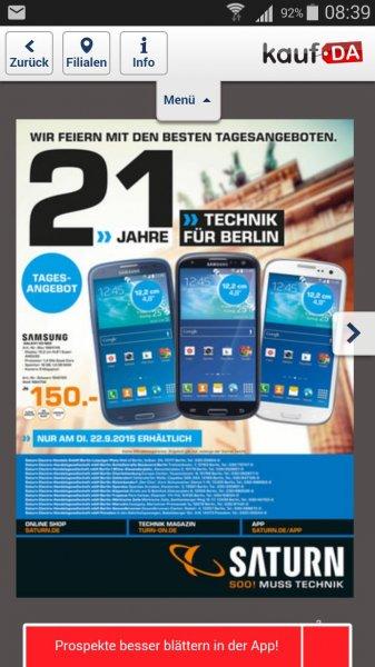 Samsung S3 Neo Saturn Berlin