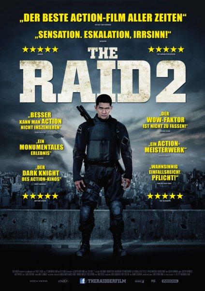 Lokal Oberhausen evtl Bundesweit: The Raid 2 Blu Ray @MediMax