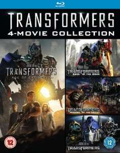Transformers 1-4 (Blu-ray Box Set) für 15,83€ @Zavvi.de