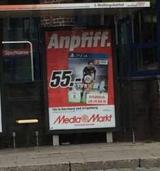 Fifa 16 PS4 bei Media Markt in Hamburg ab morgen (23.09.) für 55 €