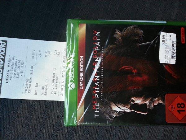 Xbox One Metal Gear Solid 39,99€ , Media Markt Lüneburg