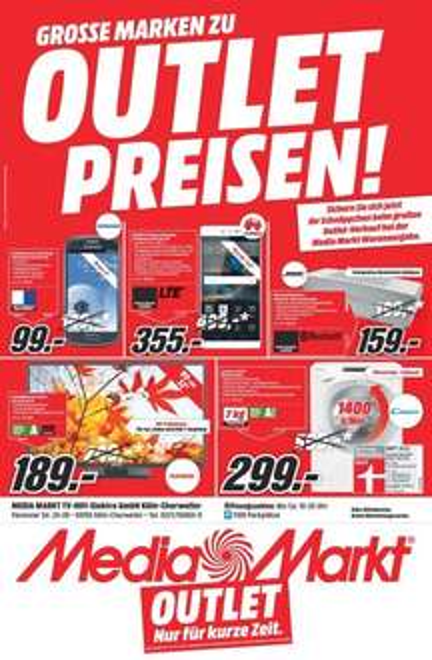 ( Lokal Köln ) Mediamarkt Köln Chorweiler Huawei P8 355€ - Bose Soundlink II 159€ Samsung S3 Mini 99€ ...