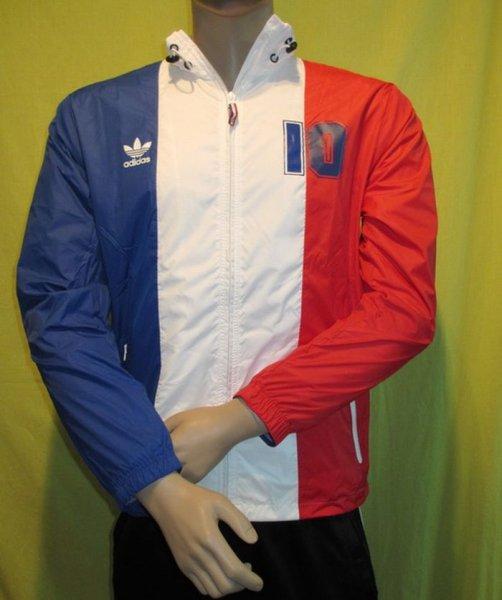 Adidas / Frankreich Colorado Trainingsjacke France / Größen: S, M, XL und Polen Größe M / @Ebay - @AmazonPrime (Links in der Beschreibung)