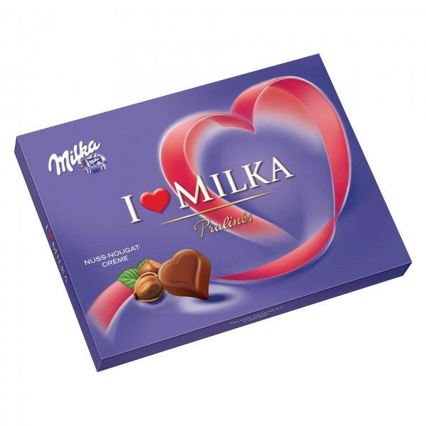 [ZIMMERMANN] KW40 I love Milka Pralinés (Nuss Nougat, 110 g) für 0,45 € (Angebot + Scondoo) [30.09.2015]