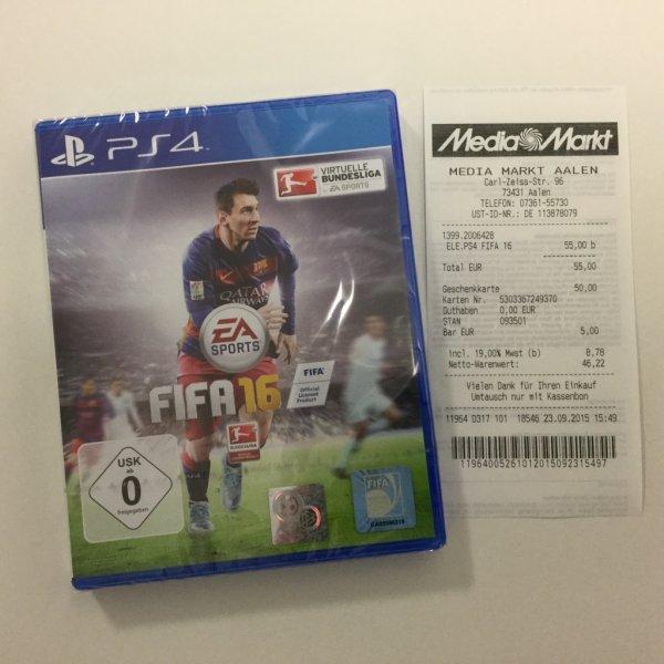 [Lokal MM Aalen] FIFA 16 für 55 Euro
